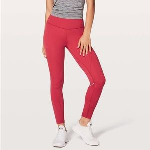 Lululemon Chasing Miles Tight 4 Persian Red